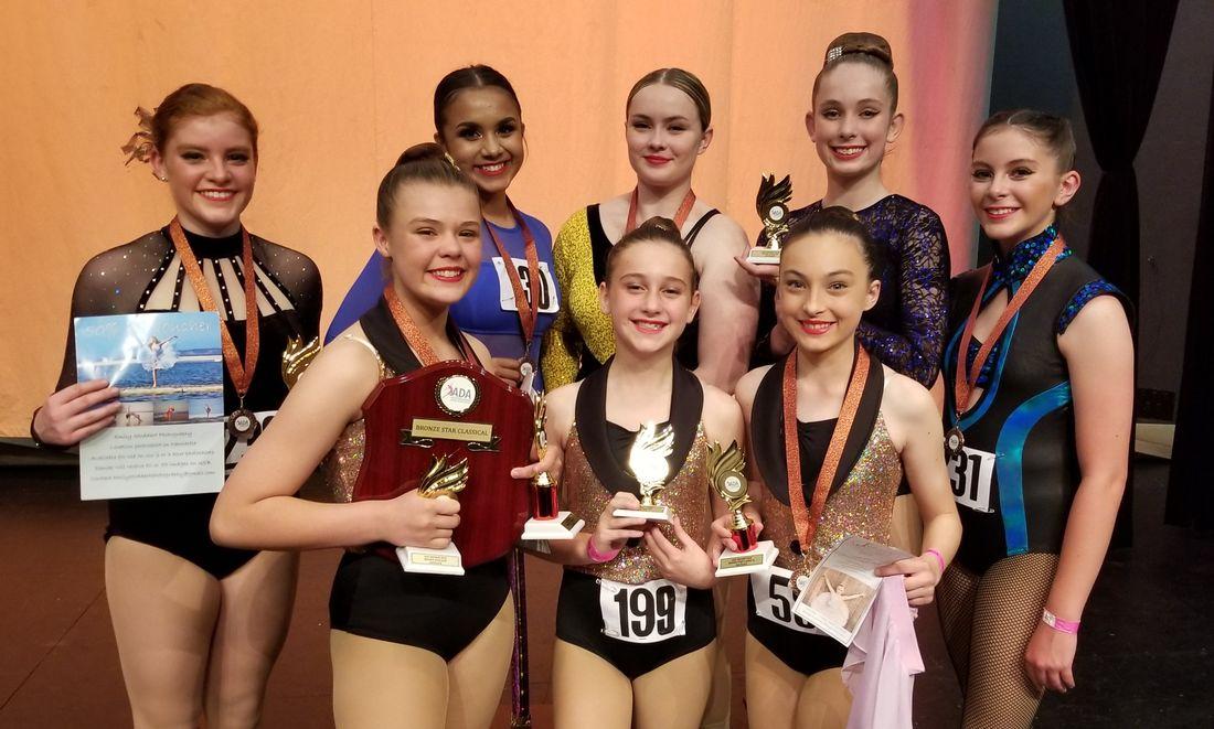 Bronze & Silver Star Winners